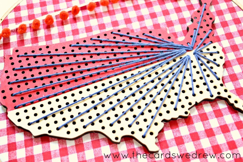 vintage americana memorial day decor