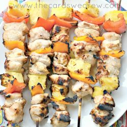 Grilled Margarita Chicken Kabobs