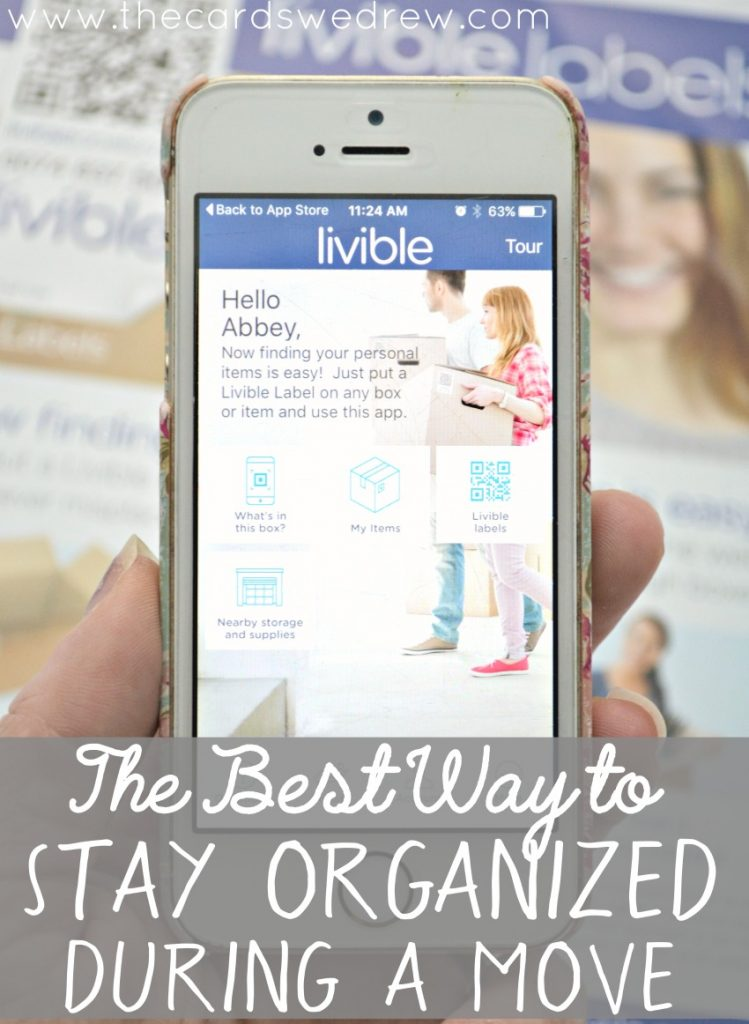 The BEST Way to Stay Organized During a Move -- Livible App