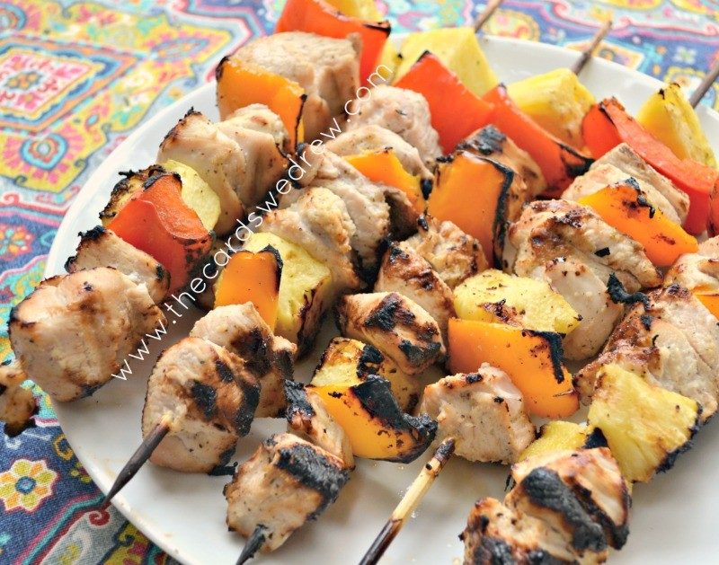 grilled chicken kabob recipe