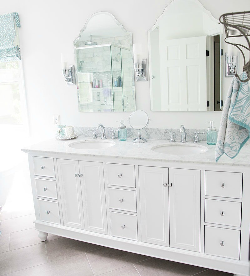 white-and-marble-vanity