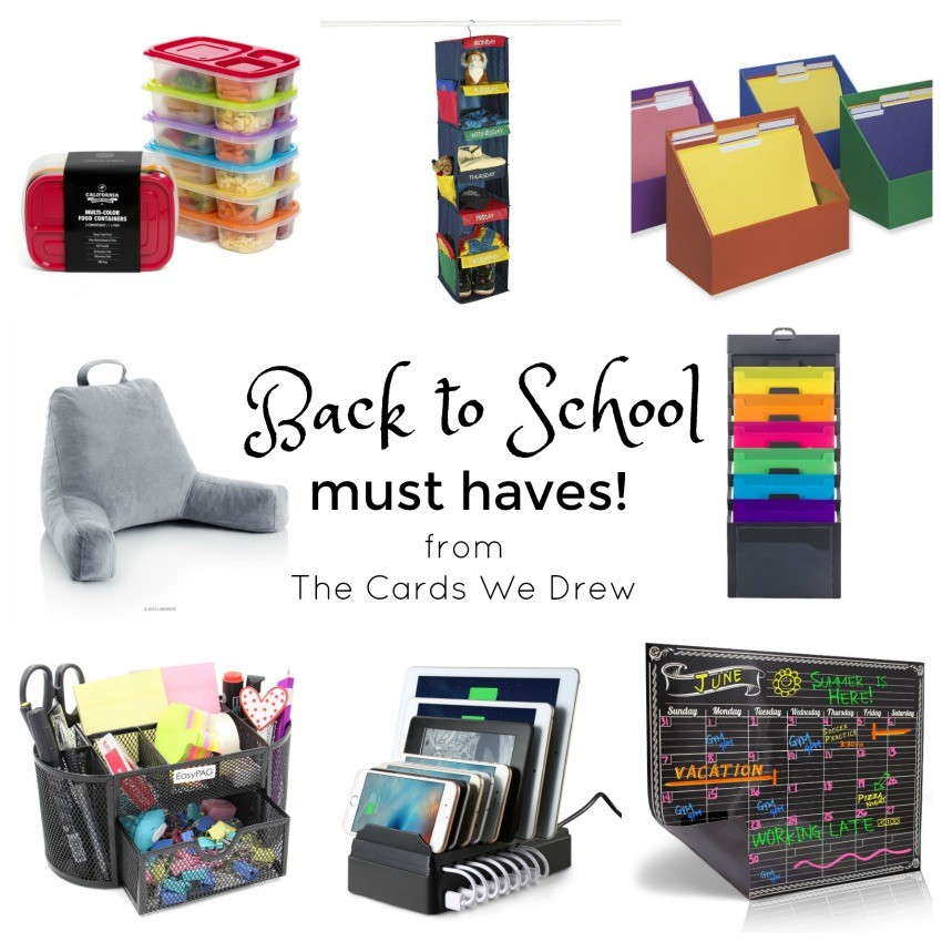 Back to School Must Haves from The Cards We Drew