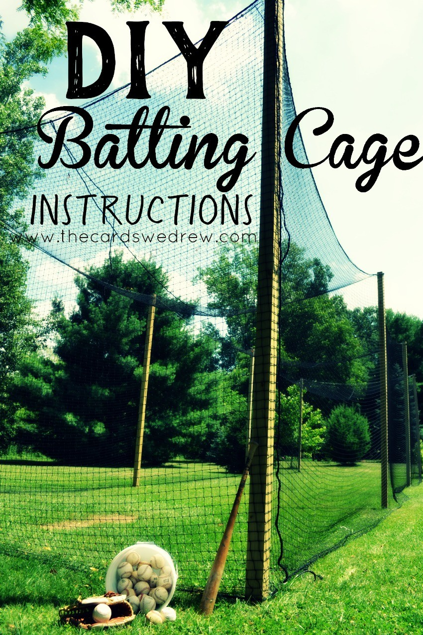 Bon DIY Batting Cage Instructions