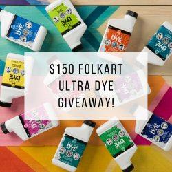 Plaid FolkArt Ultra Dye Giveaway