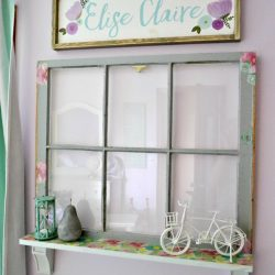 Upcycled Window Makeover