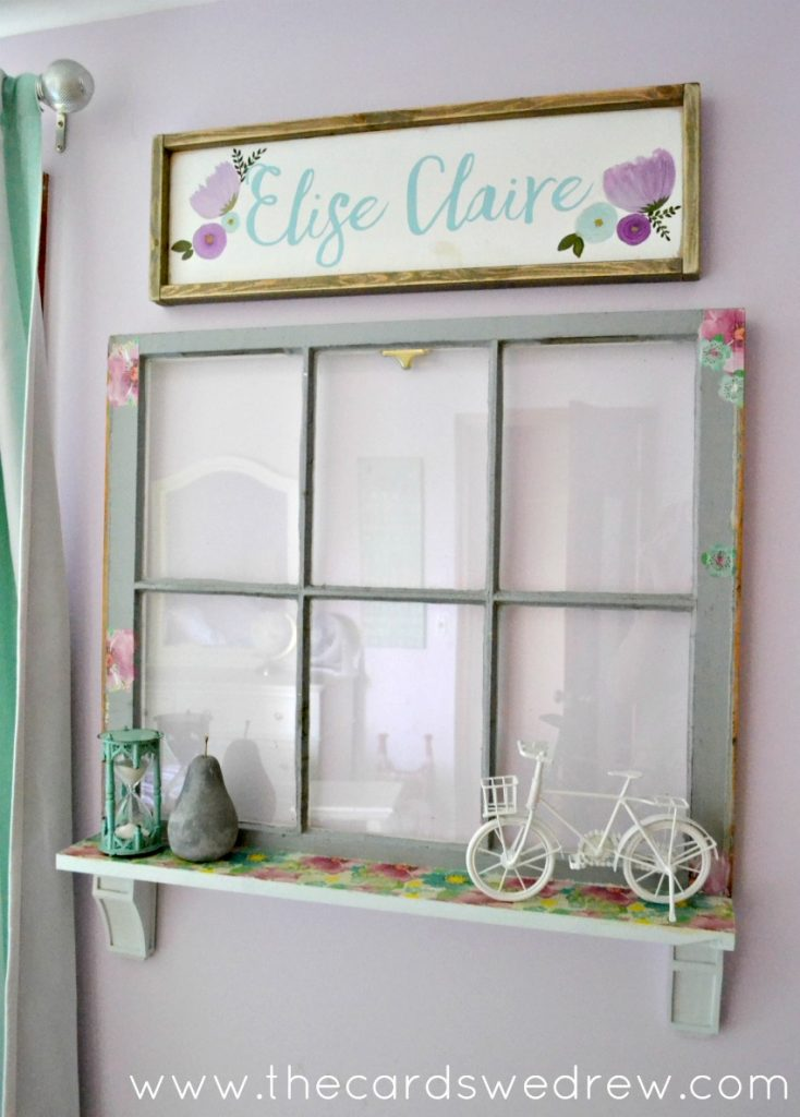 Upcycled Window Makeover from The Cards We Drew