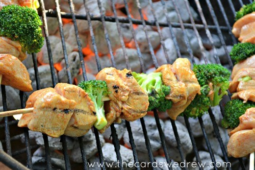 Spicy Asian Chicken Skewers Recipe by The Cards We Drew | HomeRight