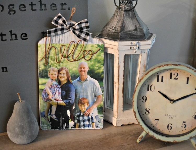 how to do a photo transfer on wood