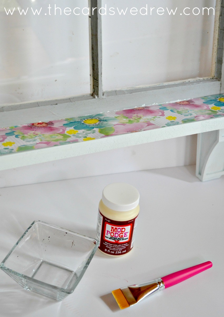 Upcycled Window Makeover - The Cards We Drew