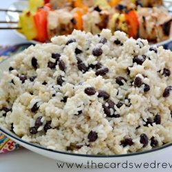 Easy Mexican Black Beans and Rice