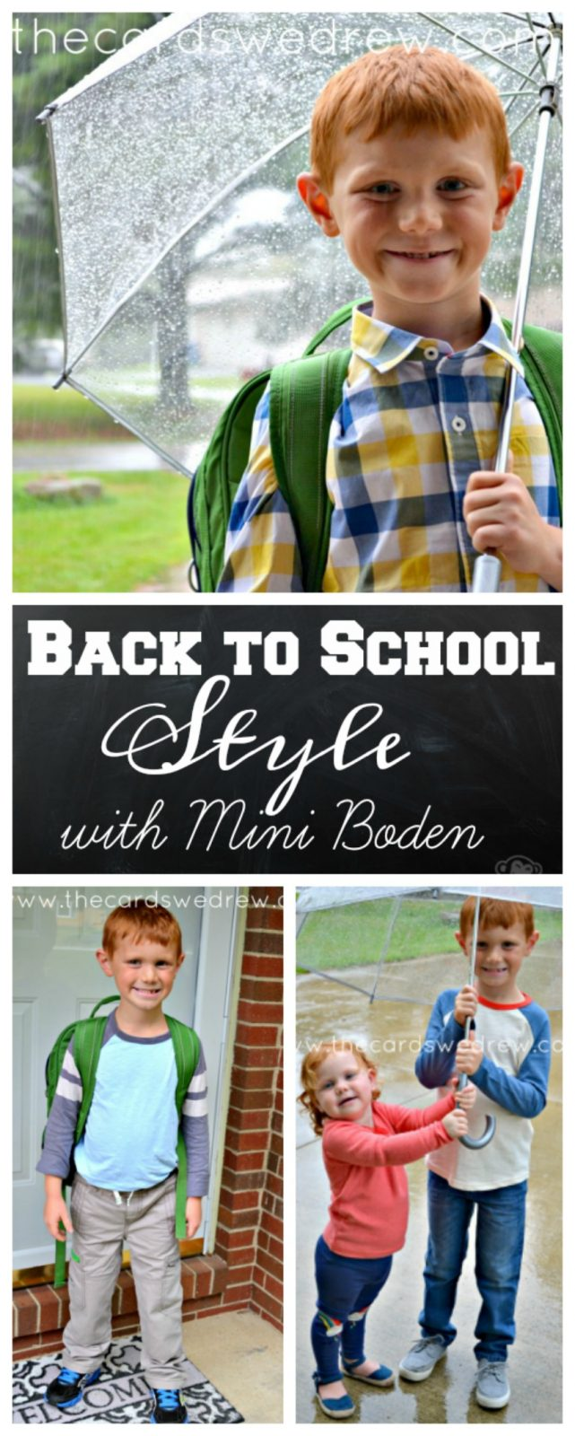 Kids Back to School Style with Mini Boden #BacktoschoolwithBoden #IC #ad