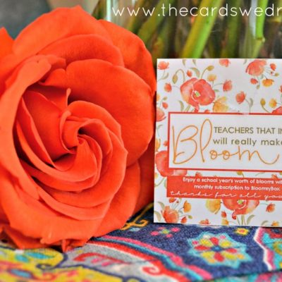 Back to School Teacher Gift with Bloomsy Box