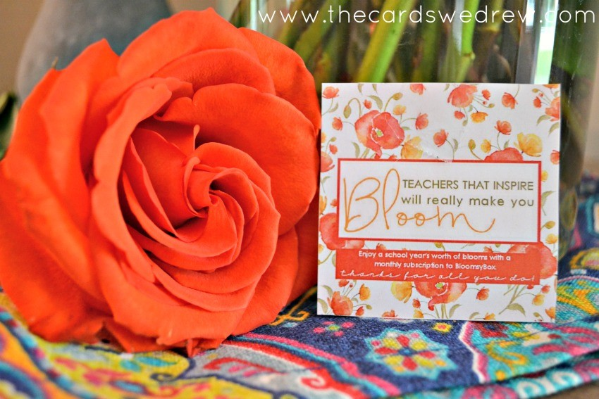 Teachers Flower Tags