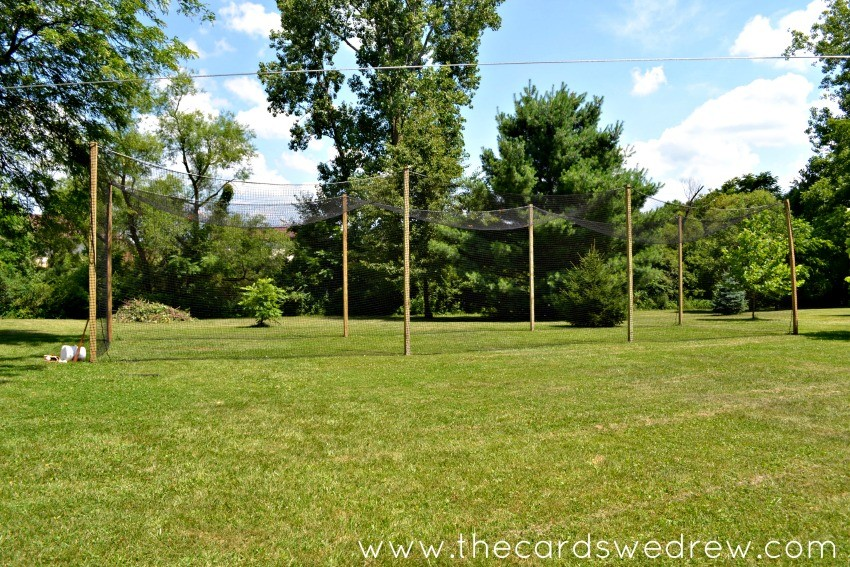 how to make your own batting cage
