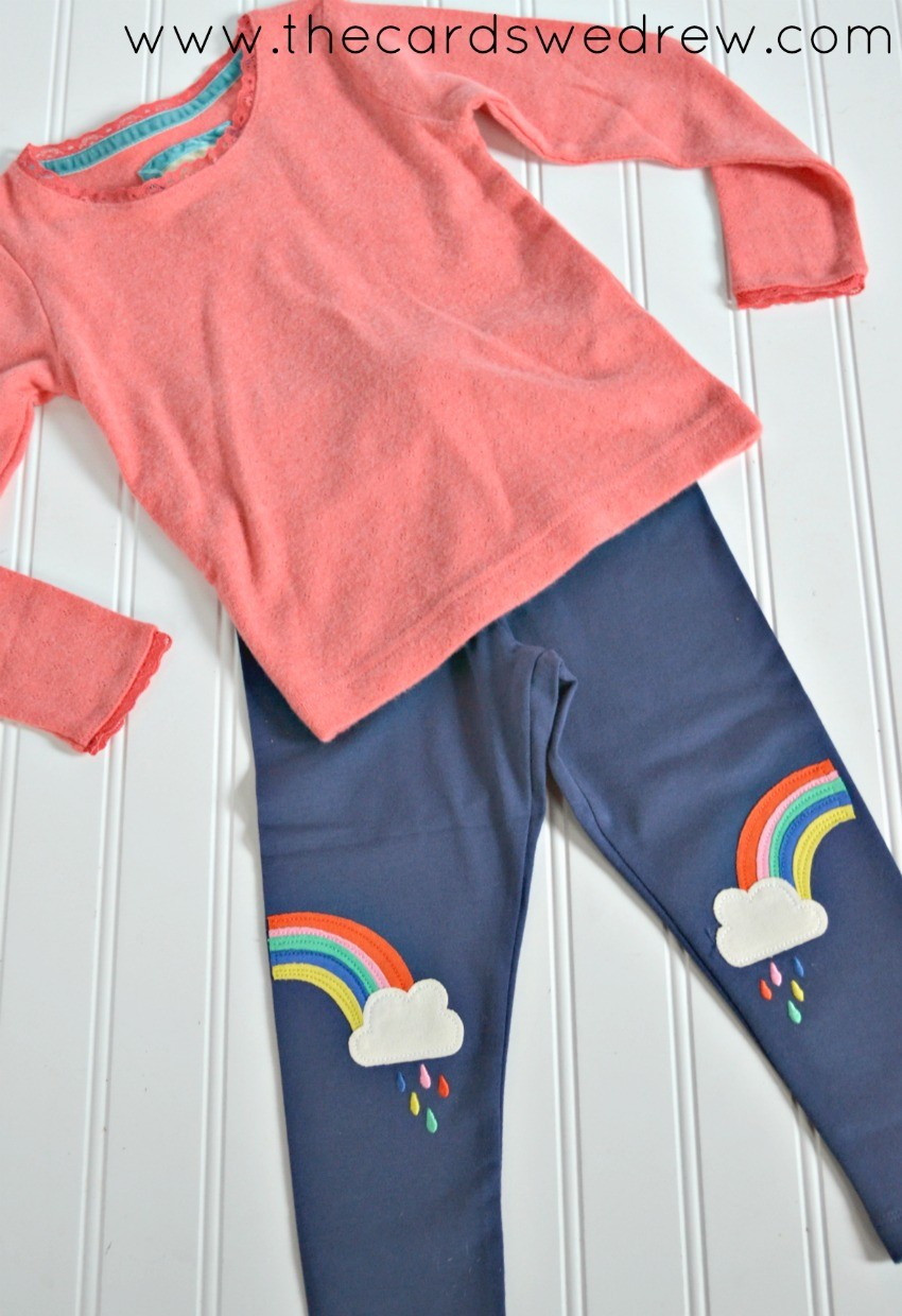 little girl's back to school outfit