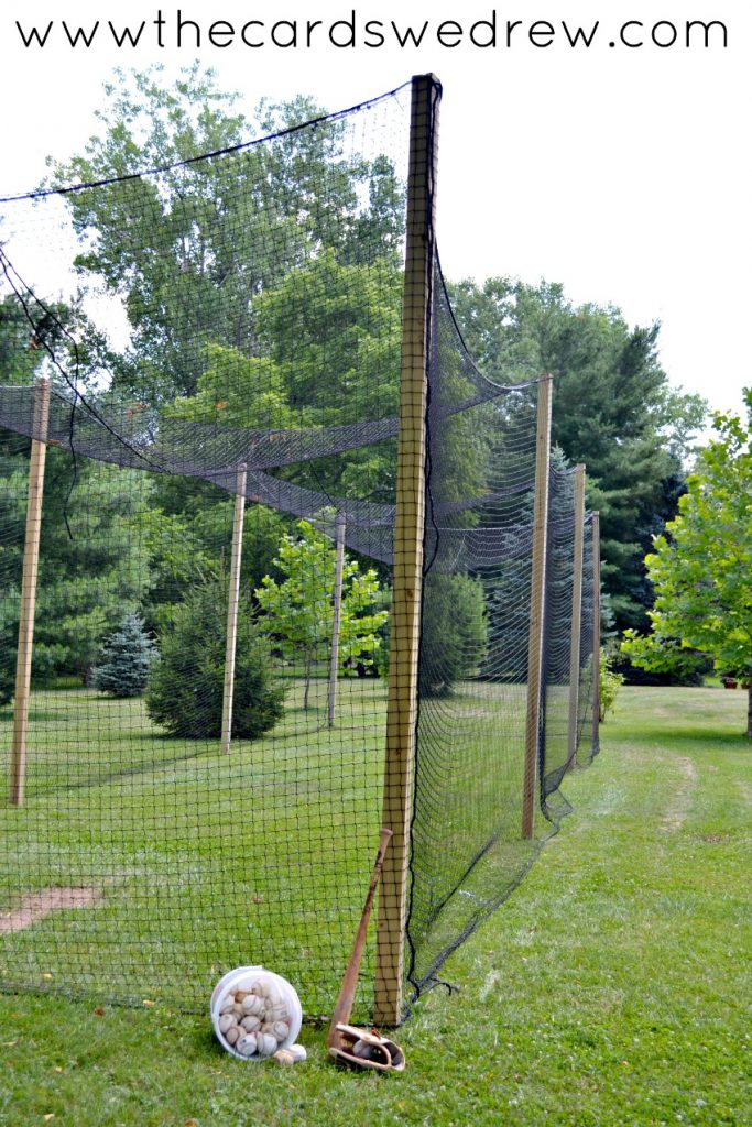 make your own batting cage