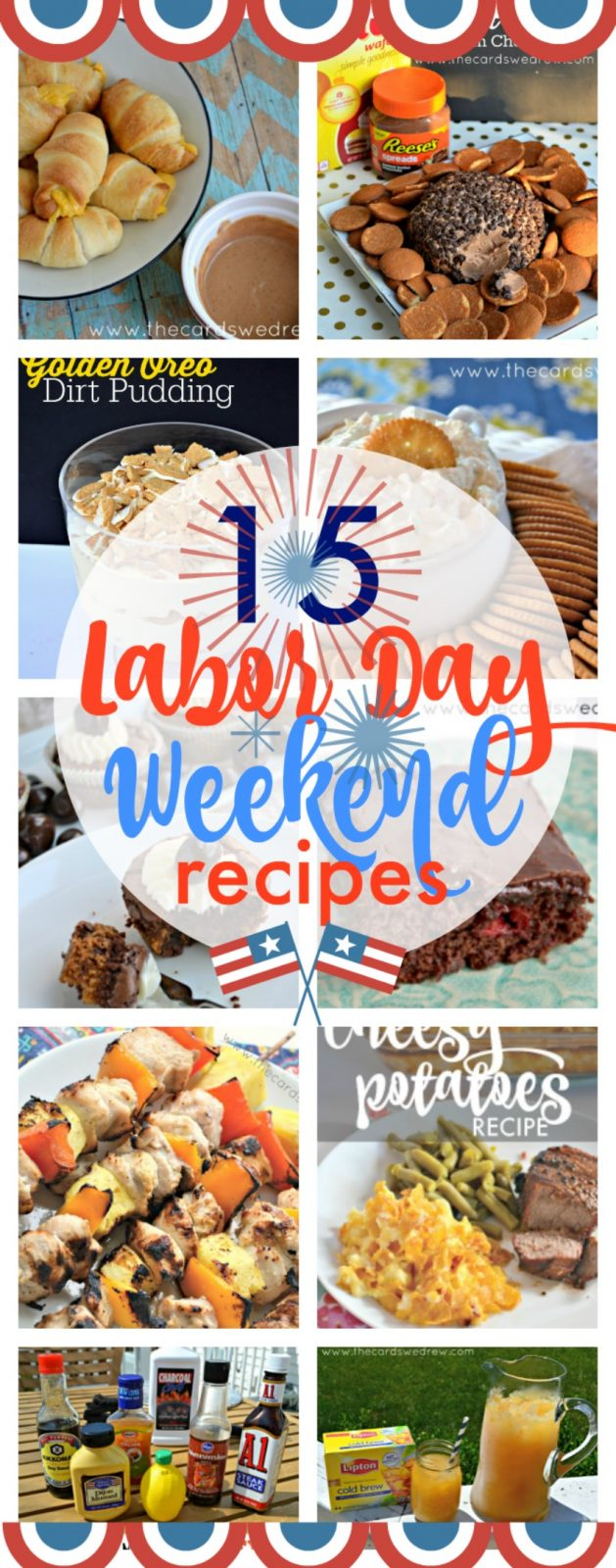 Labor Day Weekend Recipe Ideas from The Cards We Drew