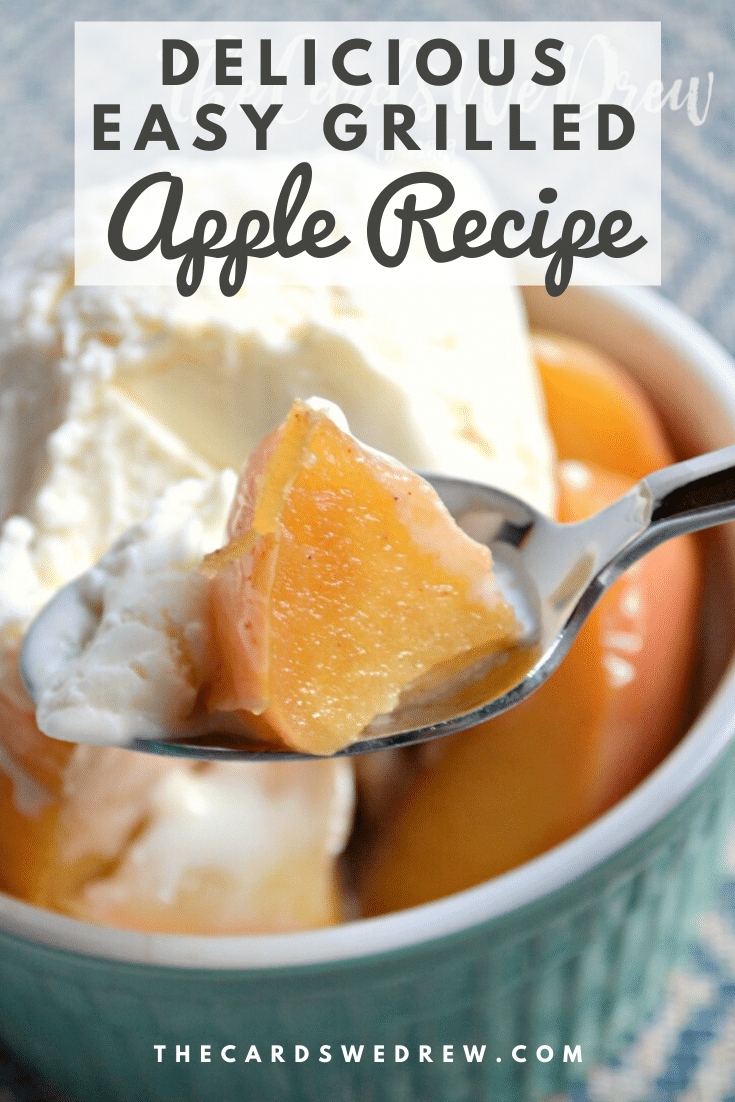 Easy Grilled Apple Recipe
