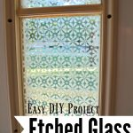 Glass Etched Front Door Side Window