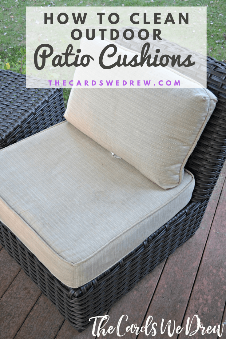 How To Clean Patio Cushions The Easy, How To Remove Mold Spots From Outdoor Cushions