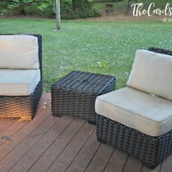 How to Clean Patio Cushions
