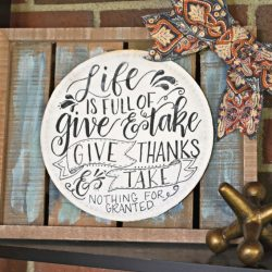 DIY Give and Take Sign with Free Print