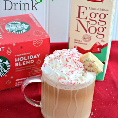 Eggnog Holiday Coffee Drink