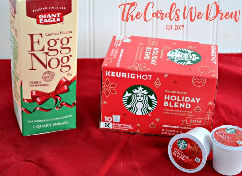 starbucks-holiday-blend-coffee-and-giant-eagle-egg-nog
