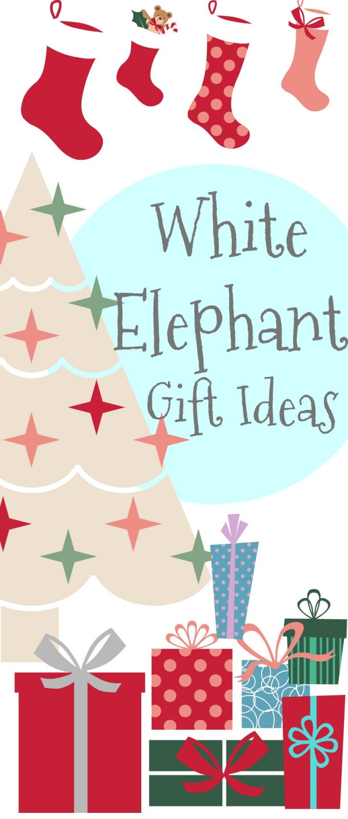 White Elephant Gift Ideas - The Cards We Drew