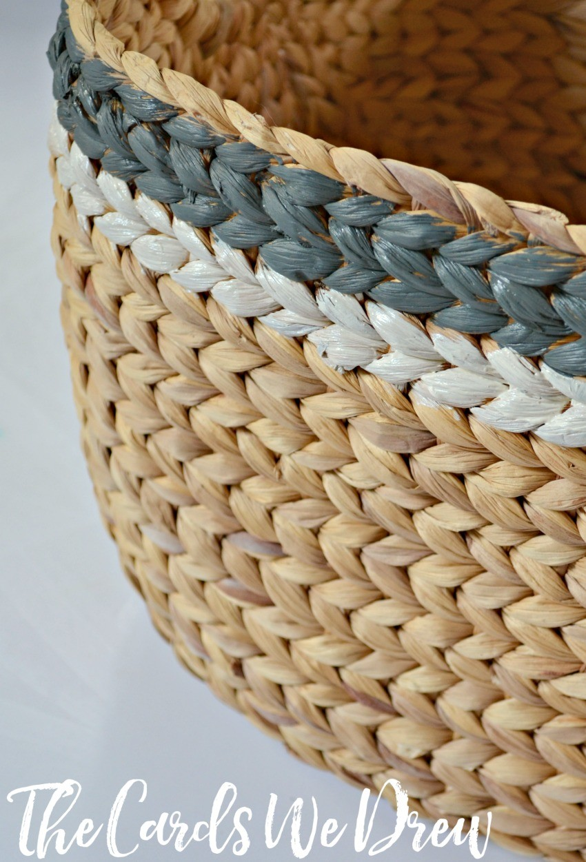 painted-striped-basket