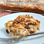 Caramel Pear Cheesecake Strudel