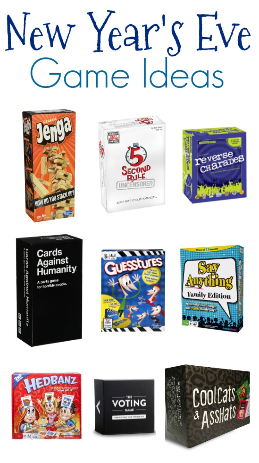 New Year\'s Eve Game Ideas - The Cards We Drew
