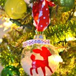 DIY Reindeer Christmas Ornament
