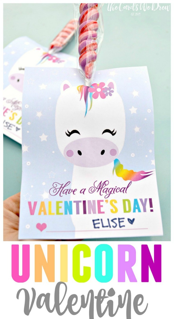 Don't pay for that Unicorn Valentine! Download the ORIGINAL UNICORN VALENTINE TO HIT THE INTERNET with this FREE DIY Unicorn Valentine Printable for kids for Valentine's Day + get links to other free Valentine's Day ideas and printables! #valentines #printables #unicorn #free