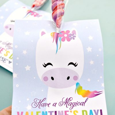 Magical Unicorn Valentine