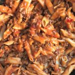 Slow Cooker Sloppy Joe Casserole