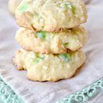 Green Cherry Coconut Cookies {St. Patrick's Day Cookie Idea}