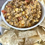 Fire Roasted Corn and Chorizo Dip