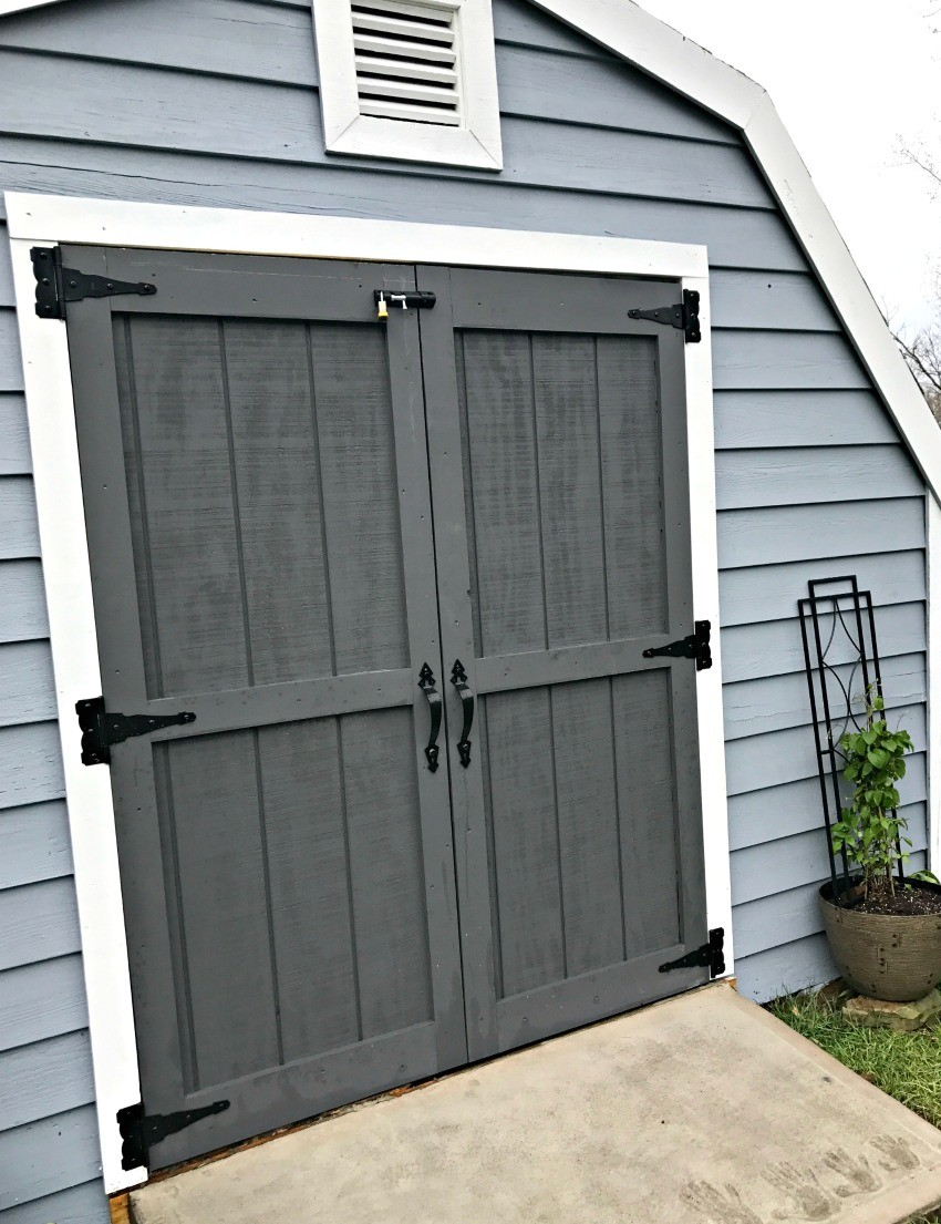 Shed doors lowes garage door lowes lowes shed lowes for Storage shed overhead door