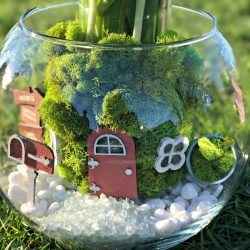 Fairy Garden Spring Flower Centerpiece