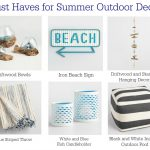 Summer Entertaining Must Haves