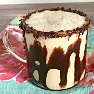 Chocolate Caramel Latte Milkshake