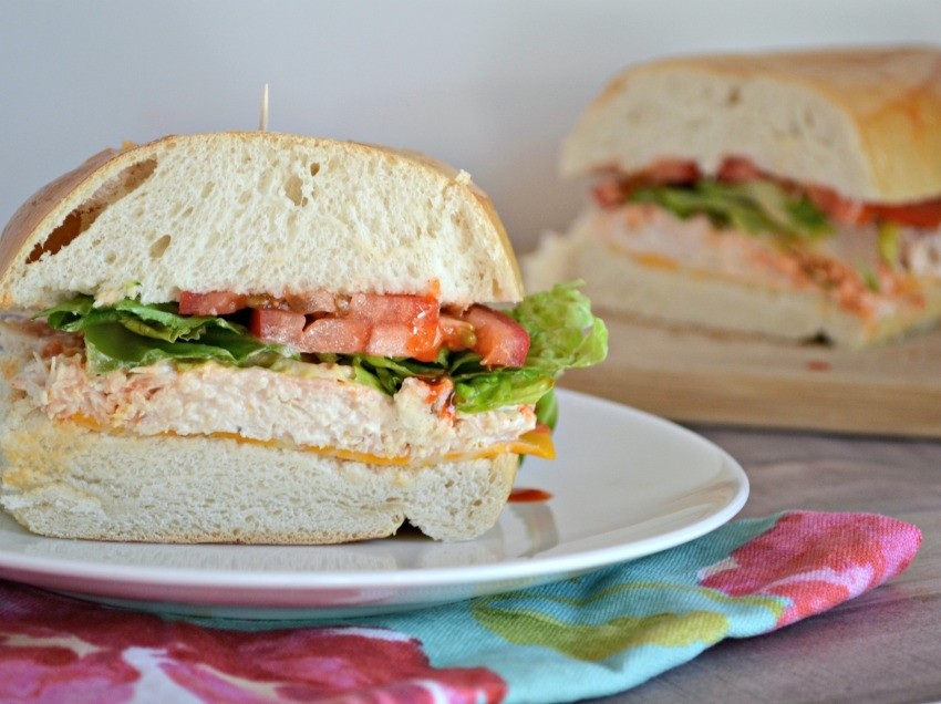 Buffalo Chicken Salad Sandwiches