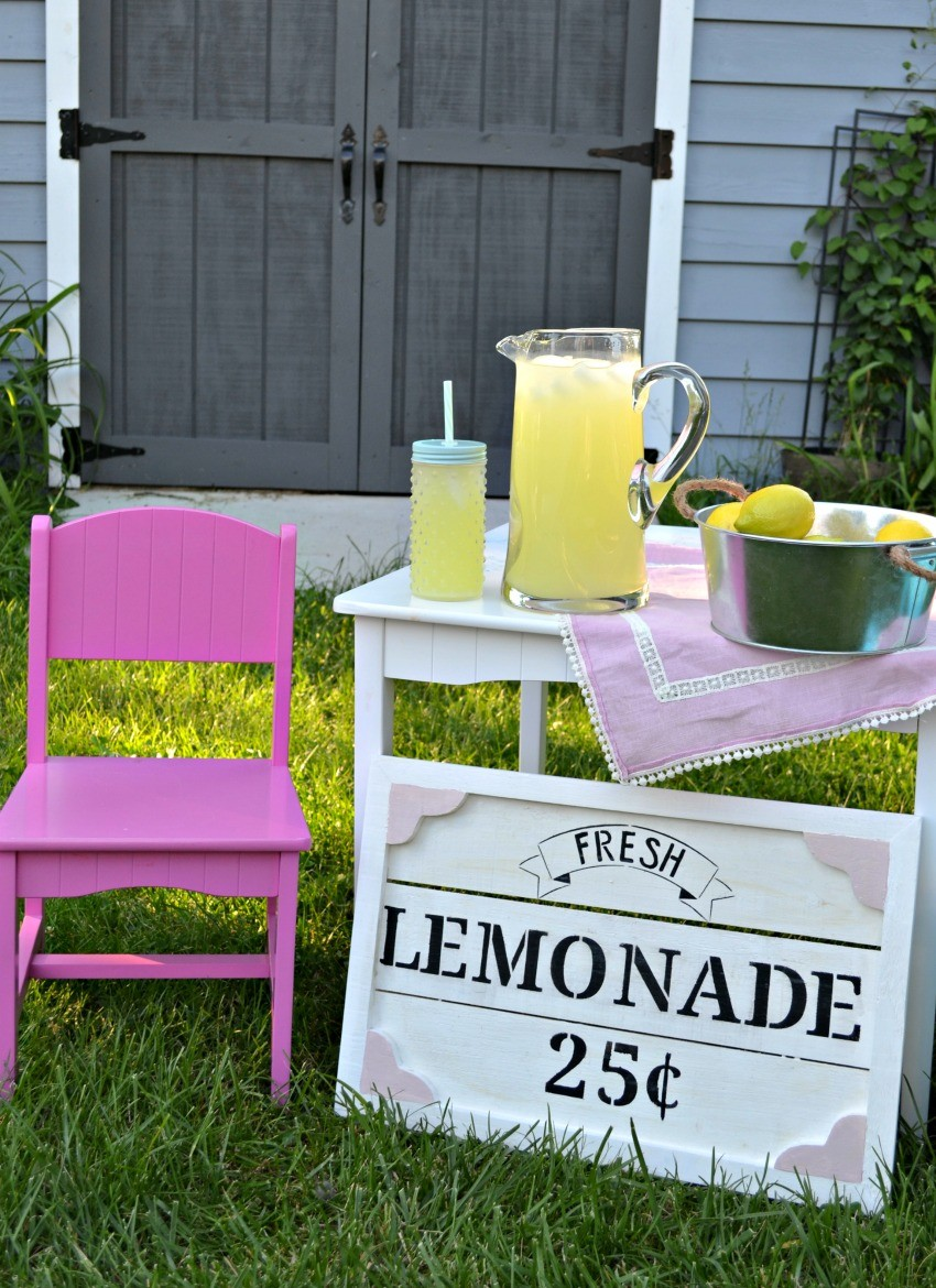 kids lemonade stand