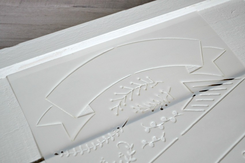 chalk paint stencils