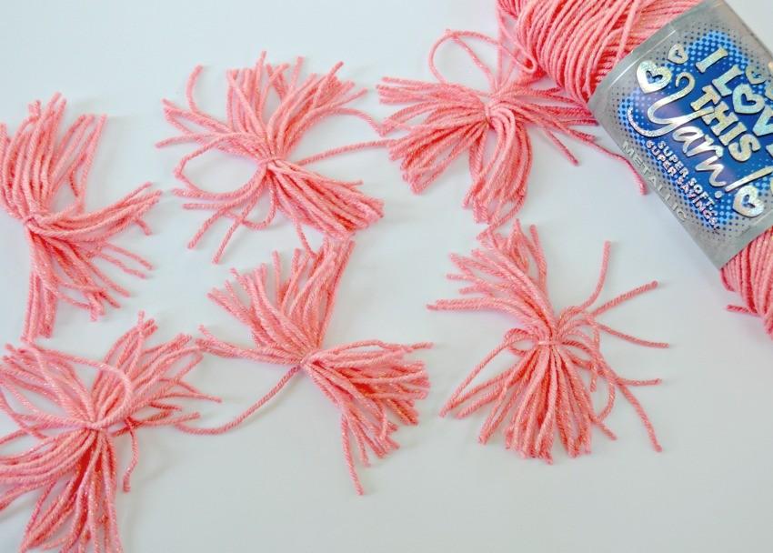 3D Pom Pom Flower Art using RyaTie - The Cards We Drew