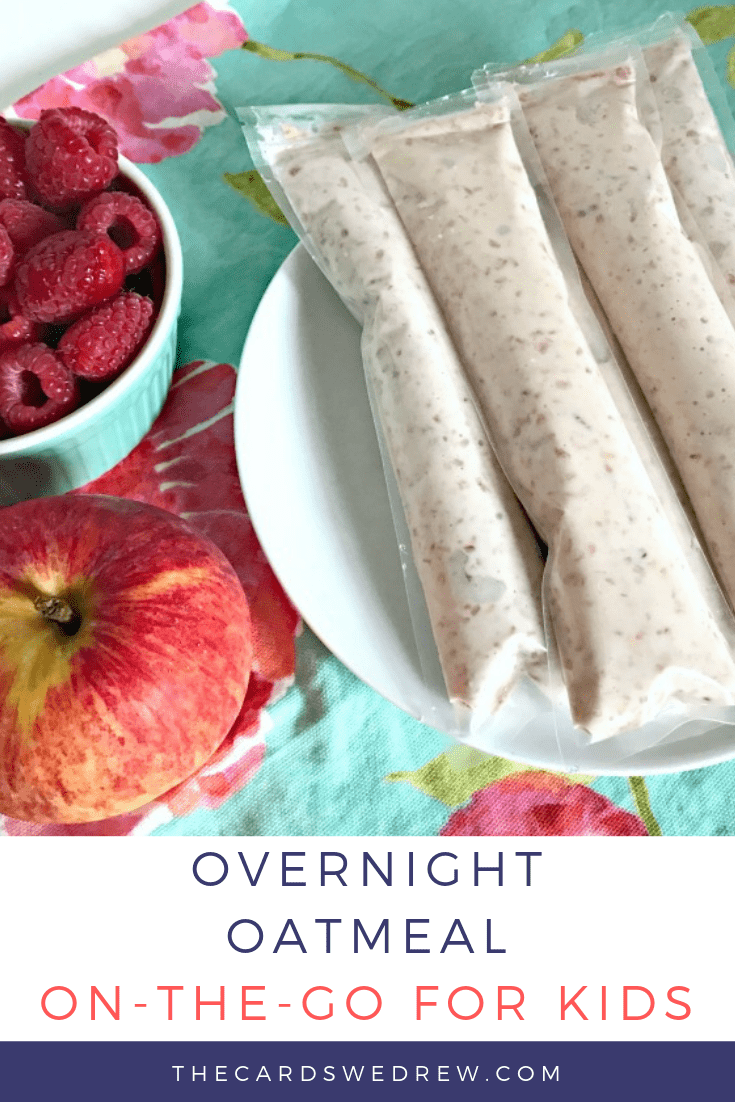 Overnight Oatmeal on the Go for Kids