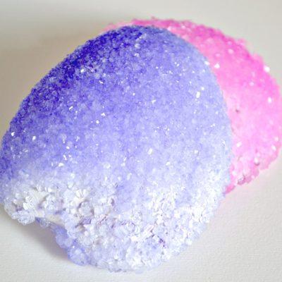 Ultra Dyed Geode Seashells