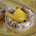 Peach and Pecan Sweet Tea Cheesecake Cups