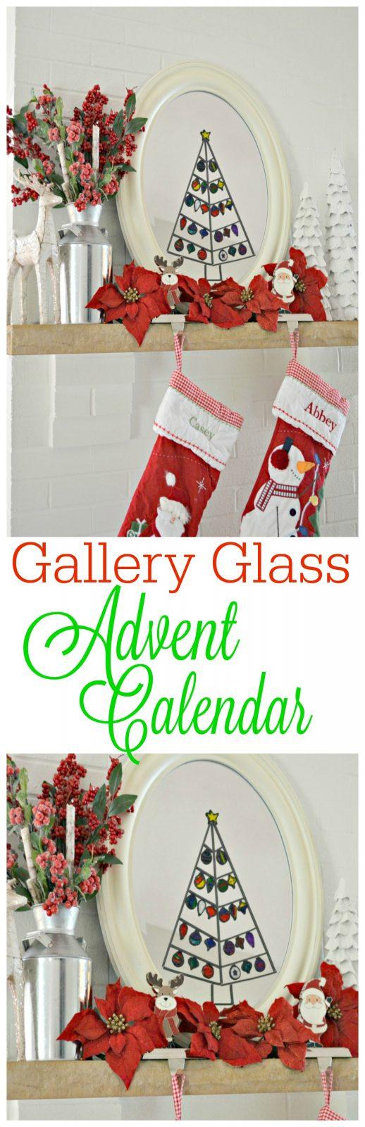 Diy Glass Calendar : Gallery glass advent calendar the cards we drew